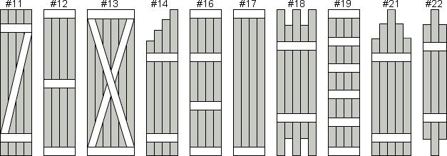 Exterior Shutters - Board And Batten Shutters