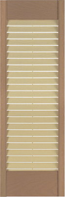 Louvered Exterior Shutters Panel Pictures