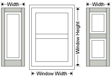 Exterior raised panel shutters measuring - Measure exterior window shutters ...